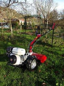 Gebrauchte  Balkenmäher: Eurosystems Einachser Wiesenmulcher Motormäher  - M220 Kombi-Einachser + perfekt für Grünpflege + Gartenbearbeitung + Grundstückspflege (gebraucht)