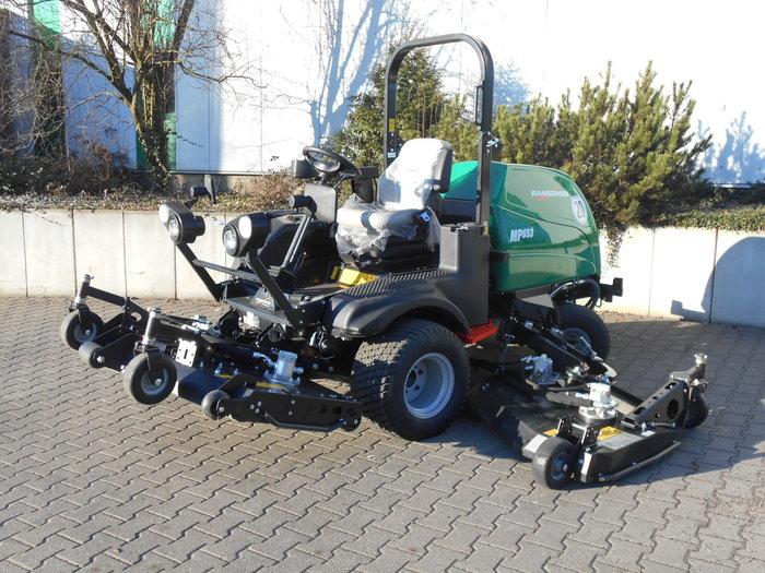Gebrauchte                                          Kommunalfahrzeuge:                     Ransomes - MP 653 (gebraucht)