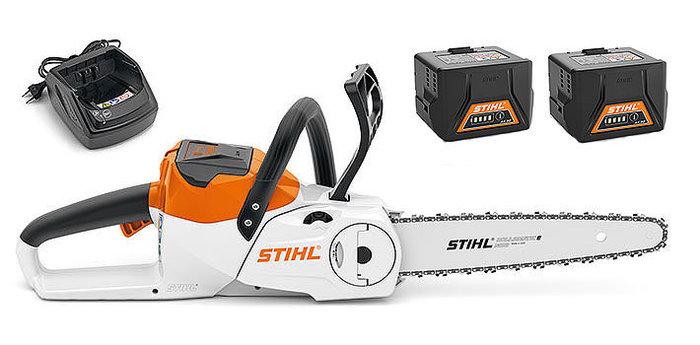 Akkumotorsägen:                     Stihl - MSA 140 C-BQ Set mit 2x AK 30 + AL 101