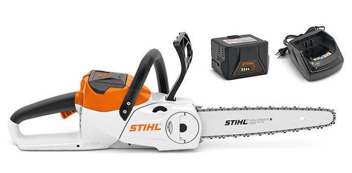 Angebote                                          Akkumotorsägen:                     Stihl - MSA 140 C-BQ Set mit AK 30 + AL 101 (Aktionsangebot!)