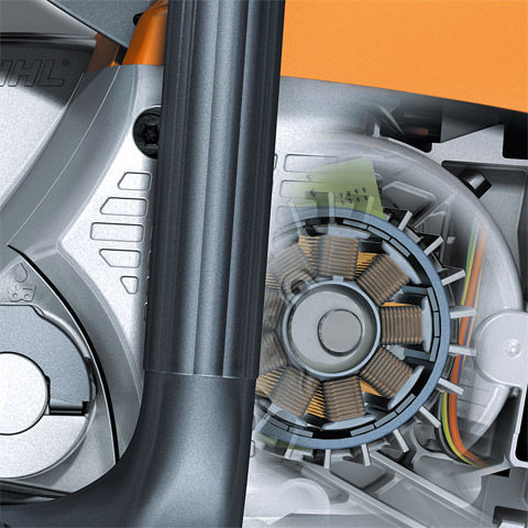 EC-Motor  Der EC-Motor überzeugt er mit geringem Gewicht, kompakten Maßen und nahezu verschleißfreier Mechanik.