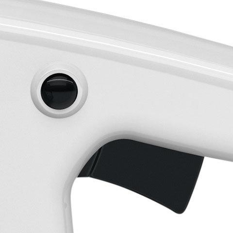 Kettenbremse QuickStop Super (Q)  Zusätzliches Bremssystem für mehr Sicherheit exklusiv von STIHL. Die Sägekette stoppt nicht nur bei ausreichend starkem Rückschlag oder aktivem Betätigen des vorderen Handschutzes, sondern auch beim Loslassen des hinteren Handgriffs. Das Nachlaufen der Kette wird in Sekundenschnelle gestoppt und schützt den Anwender.