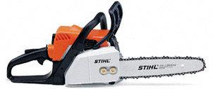 Hobbysägen:                     Stihl - MS 170-D (30 cm)