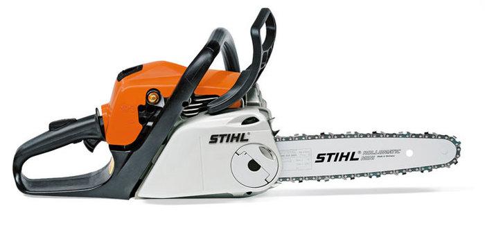 Hobbysägen:                     Stihl - MS 181 C-BE 35 cm