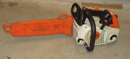 Gebrauchte                                          Profisägen:                     Stihl - MS 201 T 180032 (gebraucht)