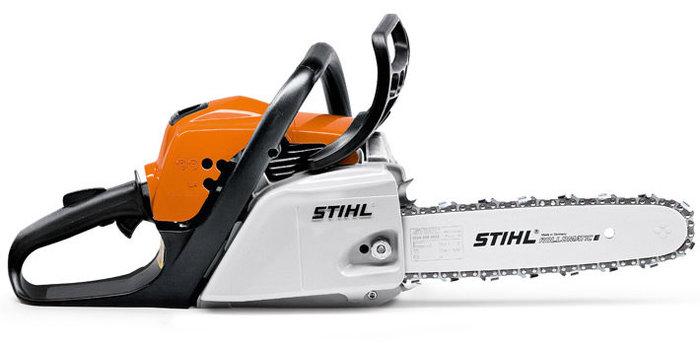 Hobbysägen:                     Stihl - MS 211 (35 cm)