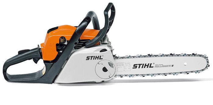 Hobbysägen:                     Stihl - MS 211 C-BE  35 cm