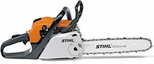 Hobbysägen:                     Stihl - MS 211 C-BE mit Picco Duro (30 cm)