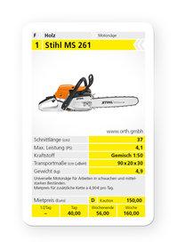 Mieten  Profisägen: Stihl - MS 261 (37 cm) (mieten)
