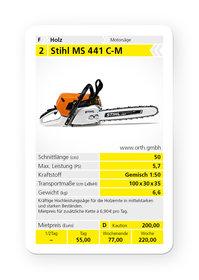 Mieten  Profisägen: Stihl - MS 441 C-M (mieten)