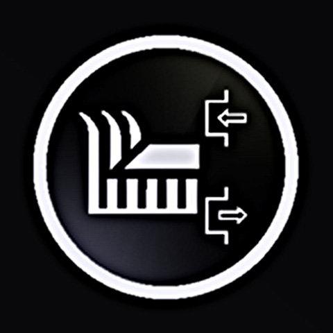 Elektromagnetische Messerkupplung (EBC)  Die Mähdeckzuschaltung erfolgt über ein Kupplungssystem. Komfortabel: Die Elektromagnetische Messerkupplung erleichtert das Zuschalten der Messer. Das Mähwerk wird einfach per Knopfdruck über ein Touchpanel eingeschalten, nochmaliges Drücken entkuppelt die Messer wieder.