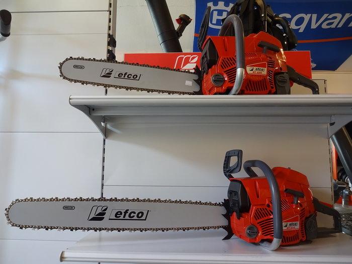 """Angebote                                          Profisägen:                     Efco Ultra-Preiswert - MT 8200 PROFI#T# Fäll- und Starkholz-Motorsäge mit soliden 6 PS mit 51 cm bis 76 cm Schnittlänge Profi 3/8"""" (Aktionsangebot!)"""