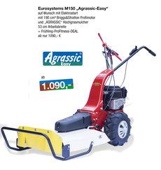 Gebrauchte  Balkenmäher: Eurosystems - M 150 - Agrassic-Hochgrasmulcher - Vorführmaschine mit ca. 2 Betriebsstunden (gebraucht)