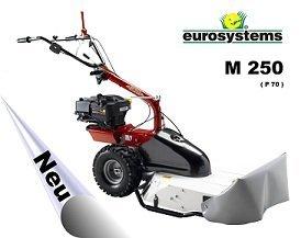 Angebote                                          Hochgrasmäher:                     Eurosystems - M 250 Mehrzweckgerät (Aktionsangebot!)