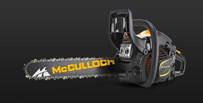 Gebrauchte                                          Motorsägen:                     Husqvarna - McCulloch CS 45 Elite - Motorsäge - Neumaschine & nicht (gebraucht)