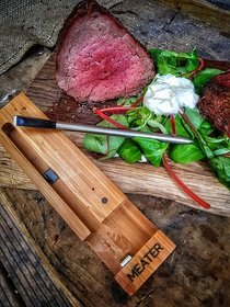 Angebote  Grillhelfer: Meater - Meater+ kablelloses Bluetooth Thermometer (Empfehlung!)