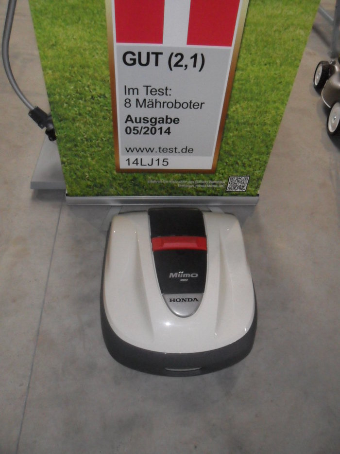 Gebrauchte                                          Mähroboter:                     Honda - Miimo 300 (gebraucht)
