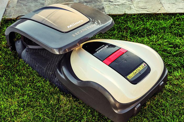 Der Miimo Roboport - als optionales Zubehör erhältlich.
