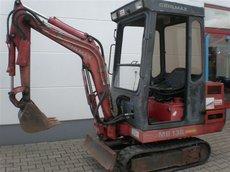 Mieten Baumaschinen: GEHL - Minibagger MB 138 (mieten)