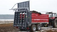 Dungstreuer: Metal-Fach - Miststreuer N280/2 – 10t