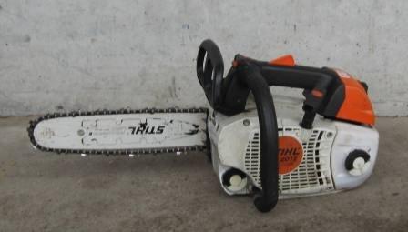 Gebrauchte                                          Hobbysägen:                     Stihl - Motorsäge 201T 180012 (gebraucht)