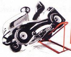 Werkstattausstattung: Oregon  - Clip Lift Traktorheber