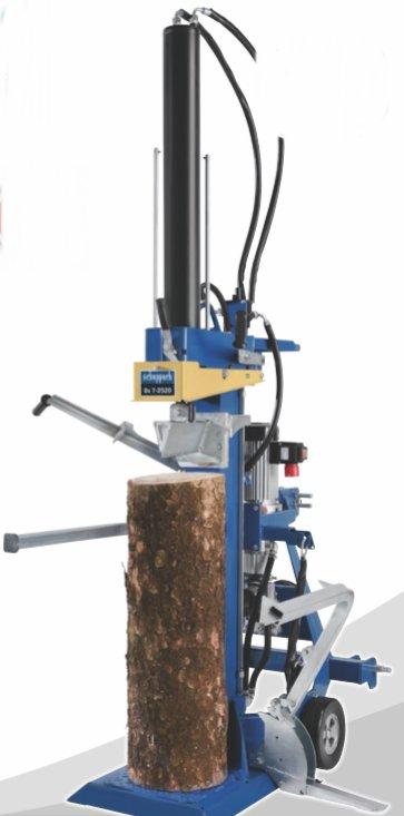 Holzspalter:                     Scheppach - Ox 7-2520 400/50 Hz + GW-Antrieb