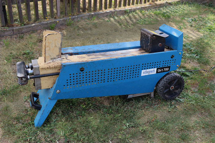 Mieten                                          Holzspalter:                     Scheppach - Ox t700 (mieten)