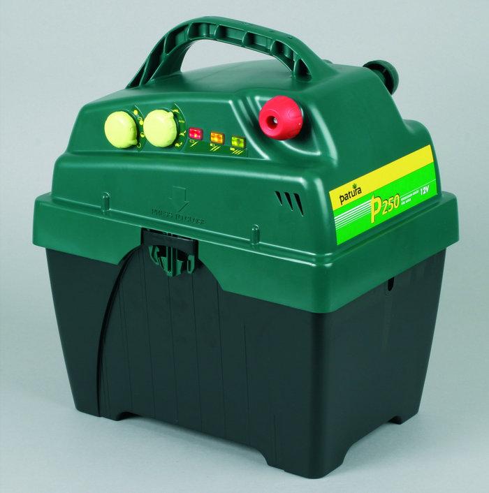 Akkugeräte:                     Patura - P250 Maxi-Box Weidezaungerät