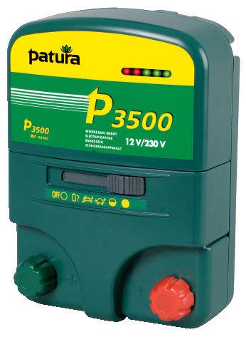Akkugeräte:                     Patura - P3500 Weidezaungerät 12V + 230V