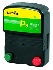 Akkugeräte: Patura - P3800 Weidzaungerät 12V + 230V