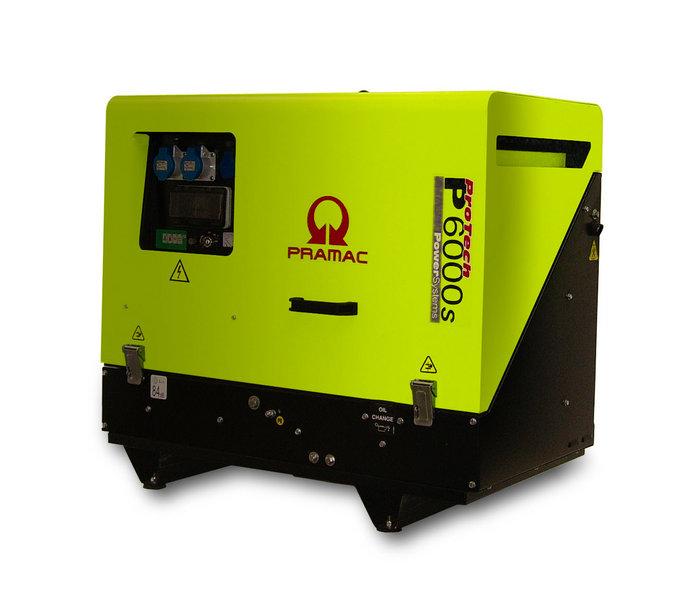 Stromerzeuger:                     Pramac - P6000S PF602TYA (230V/400V)