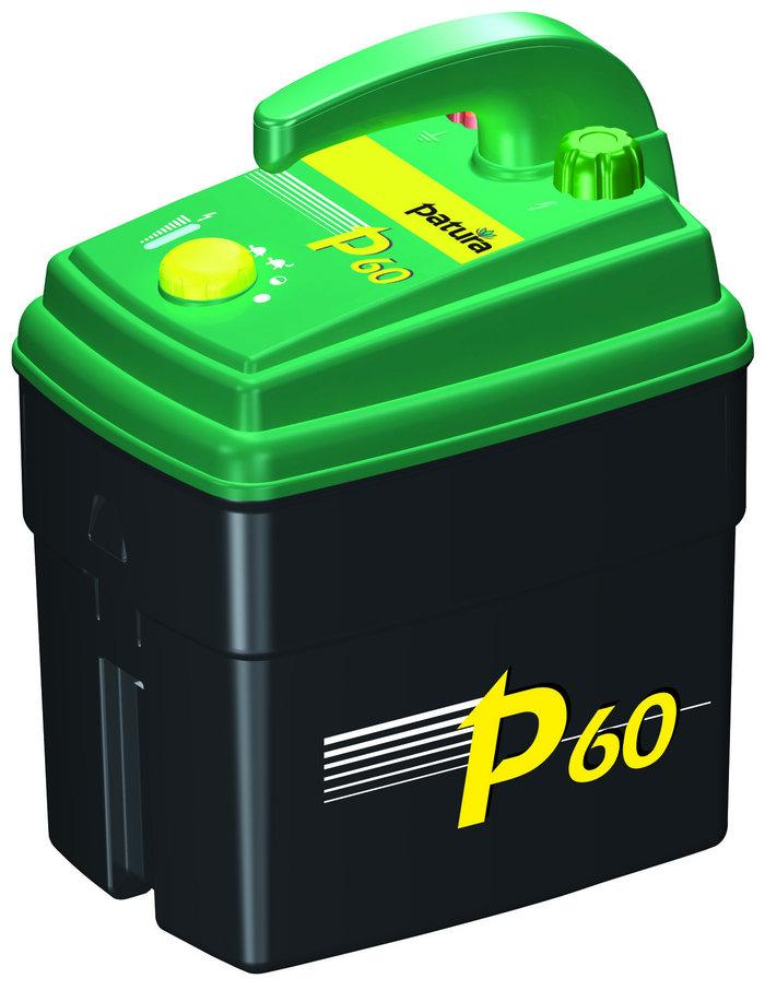 Batteriegeräte:                     Patura - P60 Weidzaungerät 9V