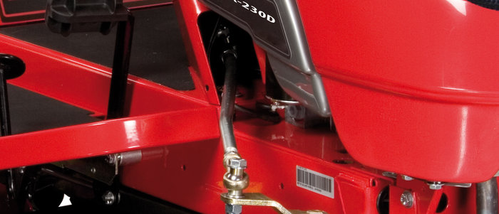 Hydrostatgetriebe -  Für anspruchsvollen Einsatz und überdurchschnittliche Leistung. Besonderheit: Das Getriebe ist zugelassen für hart greifende Ackerstollenräder.