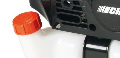 werkzeugloser Tankverschluss  Der Tankverschluss der Rückenbläser lässt sich werkzeuglos und schnell öffnen.