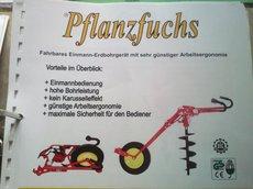 Mieten  Erdbohrer: Pflanzfuchs - PF350 (mieten)