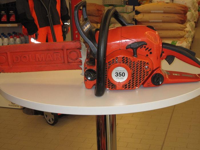 Gebrauchte                                          Profisägen:                     Dolmar - PS-350 (gebraucht)