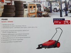 Kehrmaschinen: Nilfisk - FLOORTEC 760 B