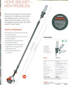 Angebote Hochentaster: Efco - PTX 2710 Profi'T'eleskop-Hochenaster (Aktionsangebot!)