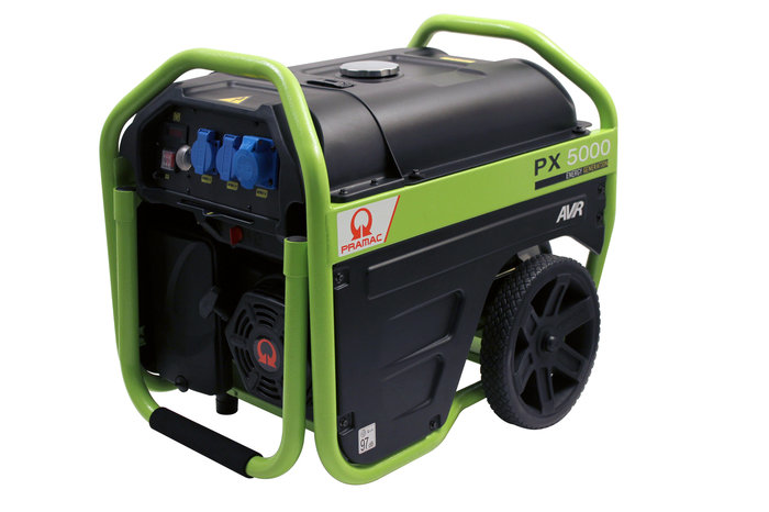 Stromerzeuger:                     Pramac - PX 5000