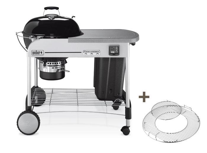 Holzkohlegrills:                     Weber-Grill - Performer Premium GBS Ø57cm (Art.-Nr.: 15401004)