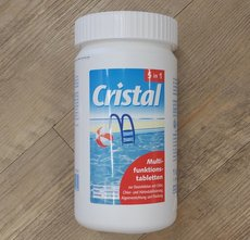 Ersatzteile: Cristal - Pool Multifunktionstabletten 5 in 1