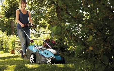 Leistung sofort verfügbar – einfach anschließen und starten  Bei einem elektrischen Rasenmäher haben Sie keine Sorgen mit Startproblemen. Es muss kein Benzin nachgefüllt und keine Batterie geladen werden. Einfach an der Steckdose anschließen und mit dem Mähen beginnen.
