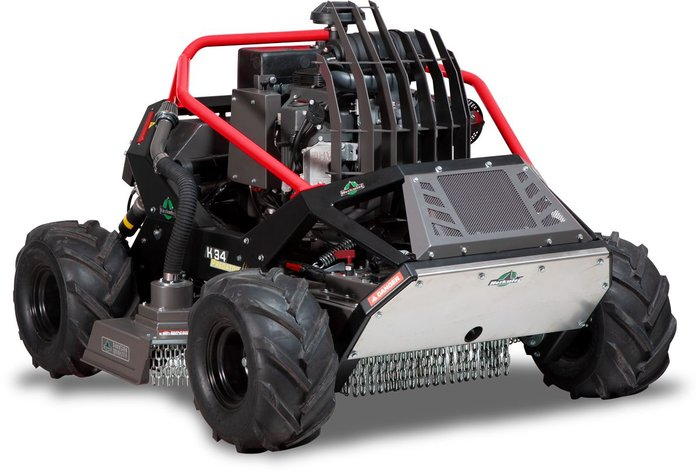 Wiesenmäher:                     Herkules - Predator K34 4WD mit Fernsteuerung