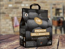 Holzkohlegrills: Die Kohle-Manufaktur - Premium Grillbrikett 5 Kg