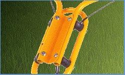 Klippo-Antivibrationssystem  Unsere professionellen Mäher sind alle mit einem Antivibrationssystem ausgerüstet, damit Sie beim täglichen Mähen den lästigen Schwingungen, die bei jedem Rasenmäher von Messer und Motor ausgehen, nicht ausgesetzt sind.