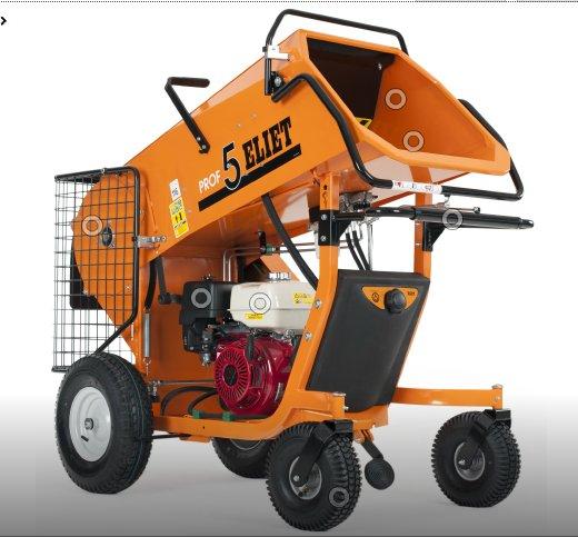 Gartenhäcksler:                     Eliet - Prof 5 Hydro + ZR 13 PS Honda GX390