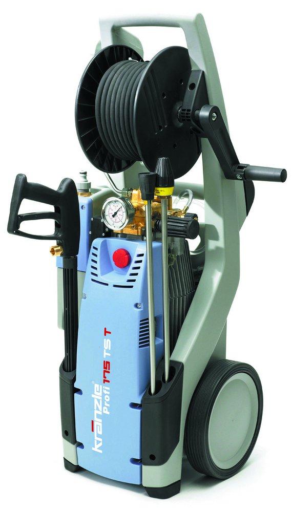 Kaltwasser-Hochdruckreiniger:                     Kränzle - Profi 175 TS T mit Schmutzkiller
