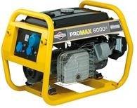 Stromerzeuger:                     Briggs & Stratton - Promax 6000EA