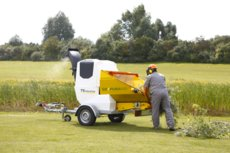 Mieten  Gartenhäcksler: TS Industrie - Puma 35D Holzzerkleinerer (mieten)